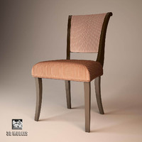 barbara barry chair 3d max