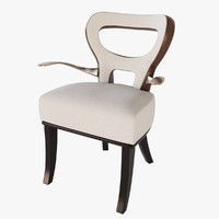 3d promemoria moka chair model