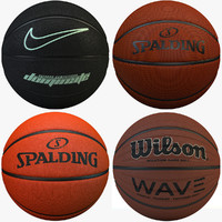 obj basketballs set nike 4
