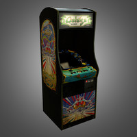 arcade machine 3d obj