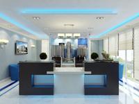 3dsmax reception interior