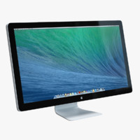 3d model apple thunderbolt display