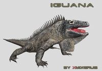 3ds max iguana ready animations