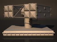 3d rim-7 sea sparrow missile launcher