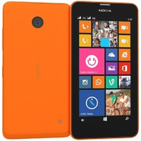 Nokia Lumia 630 635 Dual SIM Bright Orange