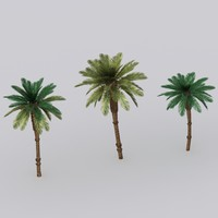date palm tree 3d 3ds