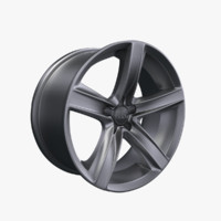 rim coupe sportback 3d model