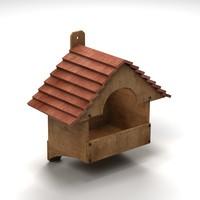 house bird 3d model