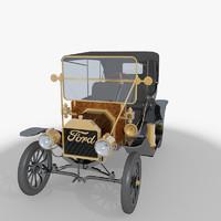 t car 3d 3ds