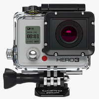 3ds max gopro hero3 black edition