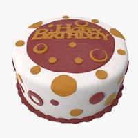 3d birthday cake 3