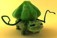 3d pocket monster model