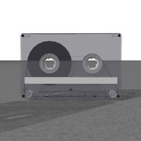 Cassette Tapes: Clear and Gray