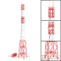 communication tower model