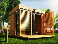 office garden 3d max