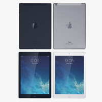 3d model apple ipad air wifi