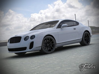 3d bentley continental model