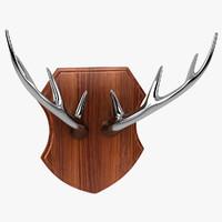 3ds deer antlers