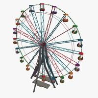 ferris wheel 3d max
