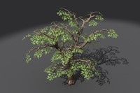 3ds max tree branches