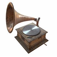 free max model old gramophone