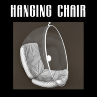 3d model hanging globe chair