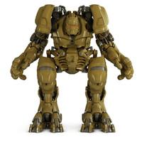 cyborg robot max