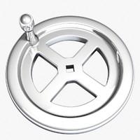 3dsmax crank wheel