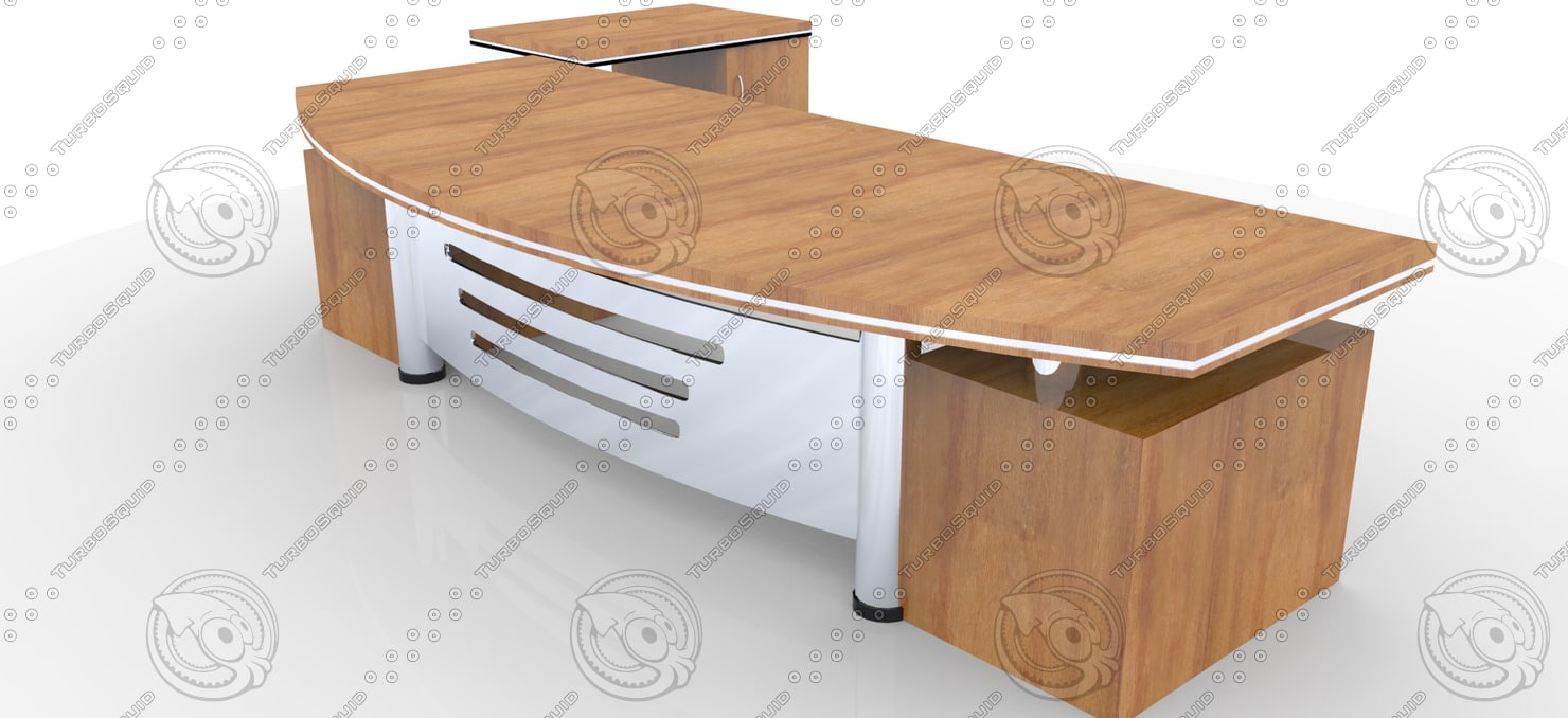 3ds Max Office Furniture Table