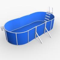 3ds max garden pool