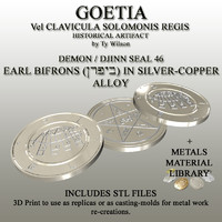 3ds max seals goetia