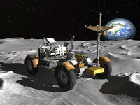 Apollo Lunar Rover Moon Car