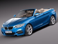 3ds max 2014 cabrio bmw