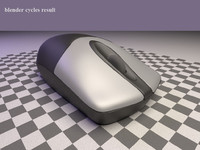 computer mouse genius netscroll 3d model