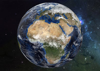 3d photorealistic earth model