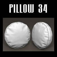 pillow chairs sofas 3d obj