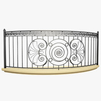 Wrought Iron Balcony 6