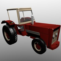 3ds max tractor