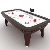 3ds max air hockey table