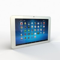 tablet pc 3d 3ds