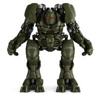 robot cgrobots 3d max