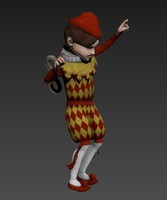 3d model doll character