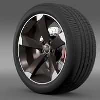 Audi R8 Spyder wheel