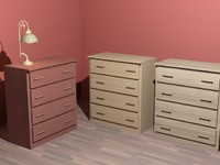 3dsmax drawer commode