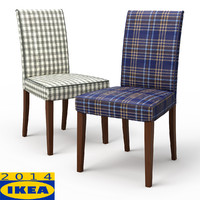 s henriksdal dining chair rutna