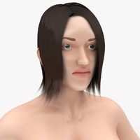 3d model nude female