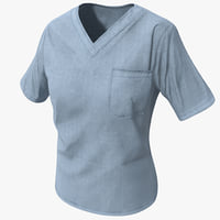 3d c4d nurse uniform 3