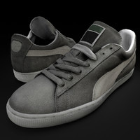 tennis shoes 3d obj