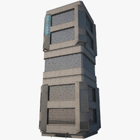 Futuristic Mega Tower 2