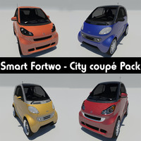 3ds smart fortwo - city